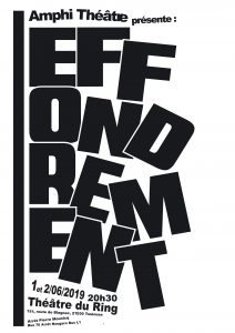 Effondrement affiche Ring